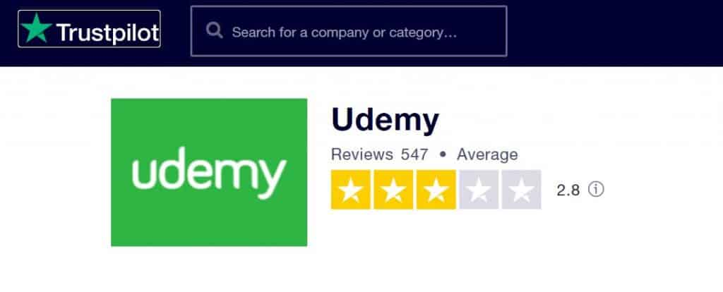 udemy reviews 2020
